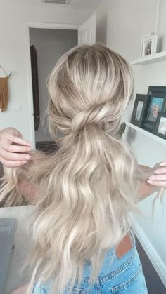Mom Hairstyles, Everyday Hairstyles, Summer Hairstyles, Pretty Hairstyles, Protective Hairstyles, Hairdos, Straight Hairstyles, Hair Upstyles, Hair Videos