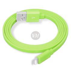 Cablu YellowKnife Green iPhone 6 Plus / 6 / 5s / 5 / 5c / iPad Air / iPod Touch 5 | Wo-Men.ro