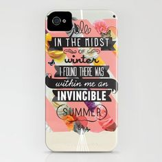 The Invincible Summer iPhone Case by Kavan