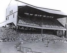The old North Stand at Stamford Bridge. Not the most stable structure it could vibrate from the crowd stamping their feet after the Blues scored a goal. Some of my earliest visits to the Bridge in the late British Football, Retro Football, Chelsea Football, Chelsea Blue, Chelsea Fc, Nostalgic Pictures, Bristol Rovers, Image Foot, Stamford Bridge