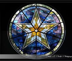 Stella Marris (Star of the Sea) stained glass window