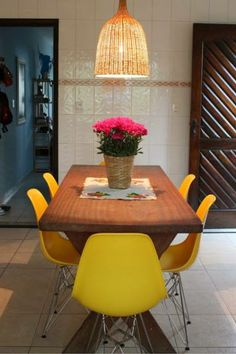CS231 - replica Eames Decor, Furniture, Dining, Eames Chair, Dining Table, Table, Chair, Home Decor, Cool Chairs
