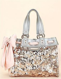 coach never fails, glitter and bows. I WANT THIS.