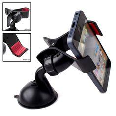 Supporto Universale porta Smartphone / Telefono Cellulare per auto con ventosa