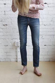 stripes + skinnies!