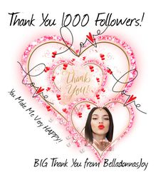 """Thank You Followers"" by belladonnasjoy ❤ liked on Polyvore featuring art, you and thank"