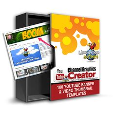 Youtube Channel Graphics Creator by Laughingbird Software is The Youtube Channel Art Maker which is Compatible with both Mac and Windows and developed by Marc Sylvester that help you Instantly make your own Youtube banners, professional video thumbnails and all kinds of graphics! Over 100 templates to modify and hundreds more graphics to use!