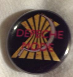 SALE -Depeche Mode rare Vintage Leave in silence - a broken frame 82 badge pin button make an offer on Etsy, $38.99