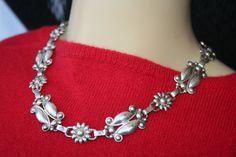 Sale ..Vintage Sterling Silver Flower by 911VintageAddiction