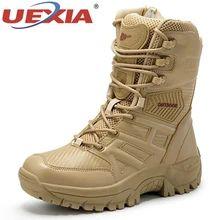 Homme cheville combat smart travail décontracté chelsea motard militaire à lacets bottes chaussures