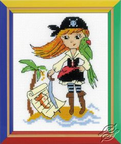 Treasure Island - Cross Stitch Kits by RIOLIS - HB-163
