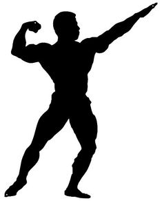 Body Builder Man Cut Out Wall Décor Silhouette Metal Sign Six Pack Abs Workout, Abs Workout Routines, Boxing Workout, Ab Workouts, Laughing Dog, Room Wall Painting, Silhouette Painting, Man Cut, Muscle Body