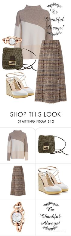 """""""sandals"""" by masayuki4499 ❤ liked on Polyvore featuring French Connection, Fendi, Diane Von Furstenberg and Gucci"""