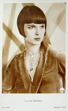 "Louise Brooks by shme on Flickr.    ""I found myself looked upon as a literary wonder because I read books."" -Louise Brooks"