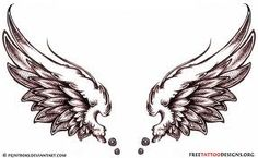 wings tattoo - Google Search