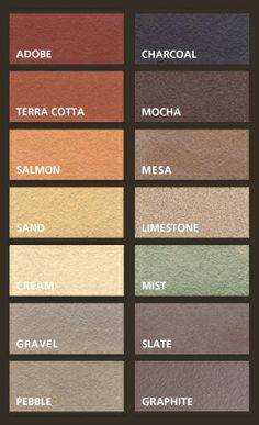 Color coordinates on pinterest color palettes design for Boston valley terra cotta