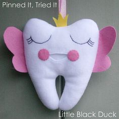 Tooth Fairy Pillow | Victoria Peat
