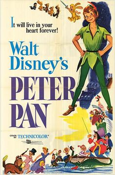 30 Day Disney Challenge, Day 16 - Favorite Classic Movie: Peter Pan (tied with Alice in Wonderland and Mary Poppins)