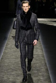 Brioni Fall 2015 Menswear Fashion Show: Complete Collection - Style.com