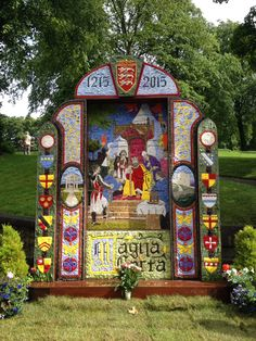 Buxton Well Dressing 2015