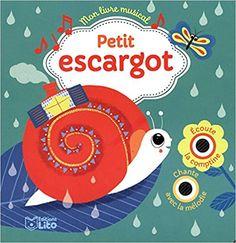Livre musical: Petit escargot  Peggy Nille