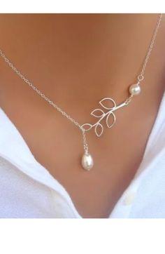 Pearl Drop Necklace – 4hearts