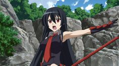 Red Eyes Sword - Akame ga KILL! - Épisode 13 : Mort aux gêneurs. Plus d'informations sur la série sur http://anime.kaze.fr/catalogue/red_eyes_sword