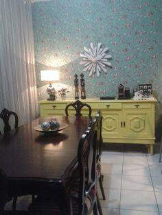 Sala de jantar projeto Sandra Dias