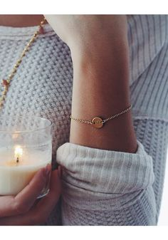 • IDENTITY MINI COIN BRACELET - $53 • Check out all our holiday favorites in the 2016 Nashelle Gift Guide! • [one plate of food donated for every piece of jewelry sold] •