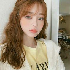 [Ulzzang icons ]♡ - T R 3 S - Wattpad Asian Makeup, Korean Makeup, Korean Beauty, Asian Beauty, Korean Bangs Hairstyle, Hairstyles With Bangs, Girl Hairstyles, Bangs Updo, Medium Hairstyle