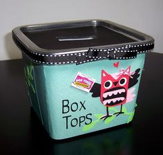 def will do this to collect box tops over the summer