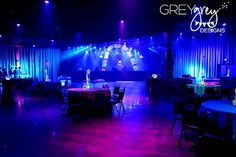 GreyGrey Designs: {My Parties} Ryan's Glow in the Dark 18th Birthday Party