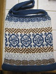 Ravelry: Fair Isle Messenger Bag (Chart Only) pattern by Stitched Together Designs