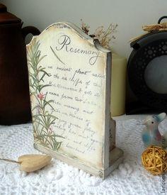 """Календари ручной работы. Ярмарка Мастеров - ручная работа Вечный календарь """"Rosemary"""". Handmade."""