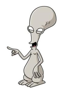 Roger from American Dad. I love this show!