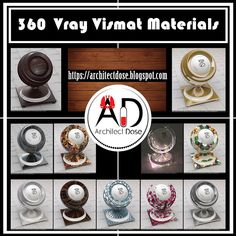 Vray Vismat Materials 360 Vismat Vray Materials We Bring between your hands here a great collection of Vray Vismat Materials That . Free Interior Design Software, Artwork For Home, Texture Images, Architecture Design, Decorative Plates, Gallery Wall, Frame, Decorating Websites, 3ds Max