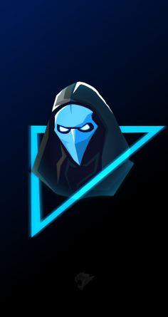 Omen Mascot Logo, Wallpaper Fortnite – … Al … Logo Wallpaper Hd, Game Wallpaper Iphone, Logo Desing, Game Logo Design, Skin Logo, Mobile Logo, Youtube Logo, Youtube Names, Esports Logo