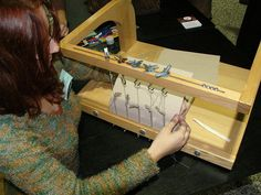 A really cool bookbinding frame