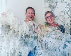 www.zachtaardig.nl - workshops raw wool - feltdesign - wallhangings & plaids - selection raw woolfleeces