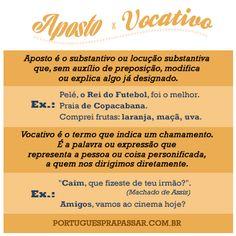 APOSTO X VOCATIVO