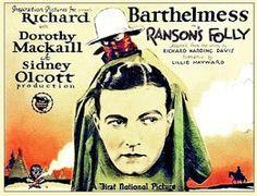 Ranson's Folly - Sidney Olcott - 1926http://western-mood.blogspot.fr/2016/09/ransons-folly-sidney-olcott-1926.html#links