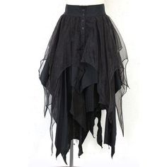 mooseham: closetchildjapan: alice auaa > スカート - alice auaa / レイヤードスカート (アリス アウアア) - ゴスロリ古着販売専門 ClosetChild This skirt is epic but i could make it so easily myself Style Outfits, Gothic Outfits, Cool Outfits, Fashion Outfits, Fashion Clothes, Style Fashion, Gothic Dress, Skirt Outfits, Alternative Mode