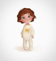 Drawing Ilustration Design Girls New Ideas Character Design Cartoon, Kid Character, Character Drawing, Character Design Inspiration, Animation Character, Disney Drawings, Cartoon Drawings, Cute Drawings, Drawing Faces