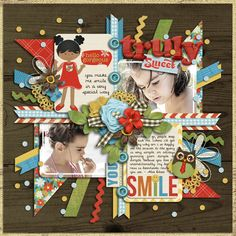Truly Sweetkit- Sweet Days with You Combo Pack by Misty Cato template- Set 169 by Cindy Schneider *new* font- by Darcy Baldwin photo by mefanti