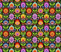 Garden Beds-Large custom fabric by groovity for sale on Spoonflower Textiles, Textile Patterns, Print Patterns, Sugar Skull Wedding, Paint Shop, Repeating Patterns, Scrapbook Paper, Scrapbooking Ideas, Garden Beds
