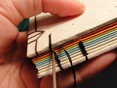 Excellent Book binding How to tutorial coptic