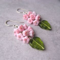 cute spring earrings