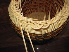 Images in Anna's post Rattan, Wicker, Making Baskets, Rolled Paper, Newspaper Crafts, Paper Basket, Anna, Basket Weaving, Nativity