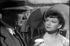 Michael Redgrave and Jean Kent in The Browning Version