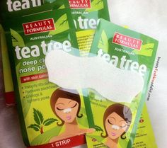 Beauty Formula Tea Tree Nose Pore Strip Review